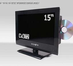 Автомобильный цифровой ЖК телевизор VTV-1502DVD/DVB T-2 - фото 2