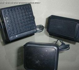 Выносные динамики для автомобильных радиостанций 4-, 6-, 8 Ватт., Антенны Hustler C100 (магнит), Hustler RUM 150 (магнит) - фото 1