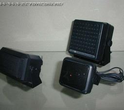 Выносные динамики для автомобильных радиостанций 4-, 6-, 8 Ватт., Антенны Hustler C100 (магнит), Hustler RUM 150 (магнит) - фото 2