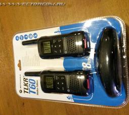Портативная рация Motorola TLKR T60 PMR - фото 4