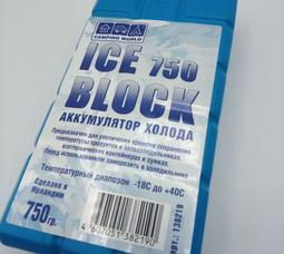 Аккумулятор холода Camping Wordl Iceblock (вес 750 гр) - фото 1