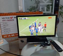 """автомобильный телевизор VTV-1902 DVB T2+DVD, 19"""" цифровой c DVD плеером - фото 10"""