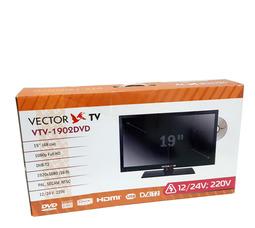 """автомобильный телевизор VTV-1902 DVB T2+DVD, 19"""" цифровой c DVD плеером - фото 9"""