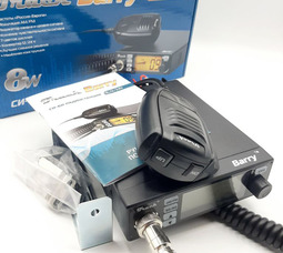 Автомобильная радиостанция Track Barry 27 МГц, 8 Вт, 12 / 24В NEW а - фото 3