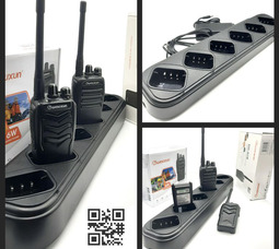 Зарядное устройство CHA-027 WOUXUN , 6 позиционное для Wouxun KG828 и 988 - фото 7
