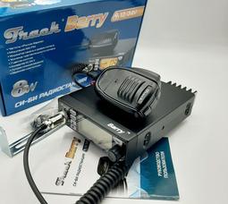 Автомобильная радиостанция Track Barry 27 МГц, 8 Вт, 12/24В  - фото 5