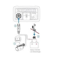 Эхолот-плоттер Lowrance HOOK-4x GPS Bullet Skimmer CE ROW (000-14015-001) - фото 4