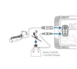 Эхолот-плоттер Lowrance HOOK -7x GPS Splitshot (000-14020-001) - фото 7