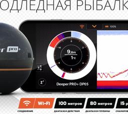 Эхолот беспроводной Deeper Smart Sonar PRO+ (Wi-Fi) - фото 4