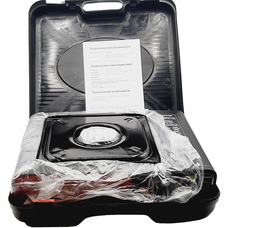 Газовая плита LANIS LP-1000 алюминиевая горелка в кейсе без переходника  - фото 3