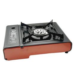Газовая плита LANIS LP-1000 алюминиевая горелка в кейсе без переходника  - фото 5