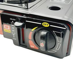 Газовая плита LANIS LP-1000 алюминиевая горелка в кейсе без переходника  - фото 7