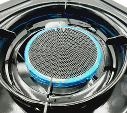 Газовая плита LANIS LP-1000 керамическая горелка с переходником  - фото 12
