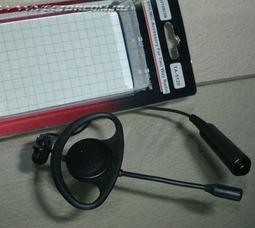 TA-5120 (KENWOOD TK) микрофон на штанге заушным креплением и выносной кнопкой РТТ - фото 2
