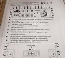 преобразователь мощности RM KL - 400  AM/FM/SSB/предусилитель входного сигнала. - фото 9