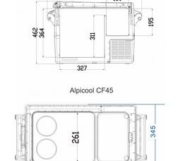Alpicool CF45 - фото 9
