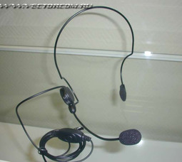 фото ТА 1031, затылочное крепление , микрофон на гибкой штанге