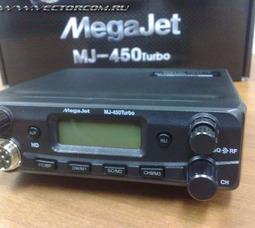 фото автомобильная радиостанция Megajet MJ 450 TURBO