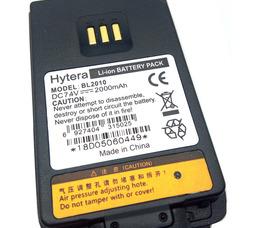 BL2010 Hytera Li-on 7.4в 2000мАч для Hytera PD405, PD405, PD415, PD415. - фото 3