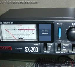 Vega SX-200 КСВ-метр , 1.8-160МГц, 0.5-400Вт - фото 1