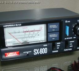 Vega SX-1000 КСВ-метр ,1.8-160 и 430-1300МГц, 0.5-400Вт - фото 1