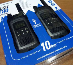 Портативная рация Motorola TLKR-Т80 PMR 446МГц портативная радиостанция - фото 1
