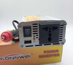KONNWEI 300 Преобразователь Вх.12V-Вых.220V 300 Вт +5в USB - фото 1