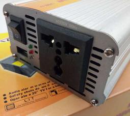 KONNWEI 300 Преобразователь Вх.12V-Вых.220V 300 Вт +5в USB - фото 2