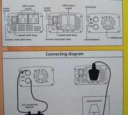 KONNWEI 300 Преобразователь Вх.12V-Вых.220V 300 Вт +5в USB - фото 6