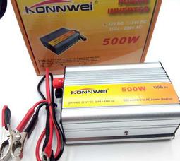 KONNWEI 500 Преобразователь Вх.12V-Вых.220V 500 Вт +5в USB - фото 3
