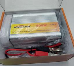 KONNWEI 500 Преобразователь Вх.12V-Вых.220V 500 Вт +5в USB - фото 4