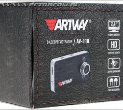 Видеорегистратор Artway AV-110  - фото 5