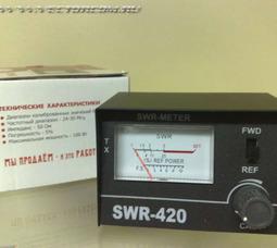 фото SWR420 КСВ-метр 24-30МГц