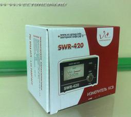 SWR420 КСВ-метр 24-30МГц - фото 2