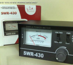 SWR430 КСВ-метр 24-30МГц - фото 1
