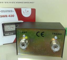 SWR430 КСВ-метр 24-30МГц - фото 2