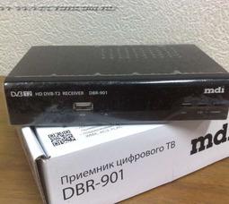 Приемник цифрового вещания mdi DBR-901