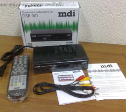 Приемник цифрового вещания mdi DBR-901  - фото 3