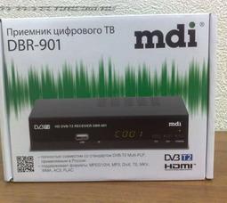 Приемник цифрового вещания mdi DBR-901  - фото 5