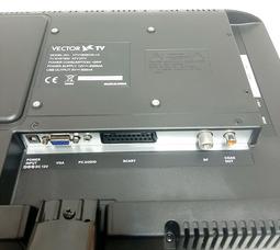"""автомобильный телевизор VTV-1502 V.2 15"""" цифровой DVB T2 и DVD плеером - фото 11"""