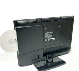 """автомобильный телевизор VTV-1502 V.2 15"""" цифровой DVB T2 и DVD плеером - фото 7"""
