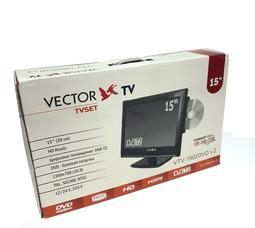 """автомобильный телевизор VTV-1502 V.2 15"""" цифровой DVB T2 и DVD плеером - фото 8"""