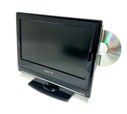 """автомобильный телевизор VTV-1301 13"""" DVD 12/24/220В  аналоговое ТВ - фото 1"""