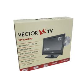 """автомобильный телевизор VTV-1301 13"""" DVD 12/24/220В  аналоговое ТВ - фото 11"""