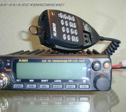 EMS-57 с DTMF Тангента к Alinco DR 135 / 435