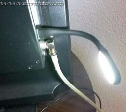 Фонарь подсветки разъем USB - фото 2