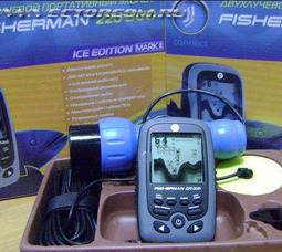 фото JJ-Connect Fisherman 220 Duo Ice Edition MARK II, эхолот двух-лучевой