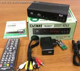 Приемник цифрового вещания Vector-TV VZ 62   - фото 2