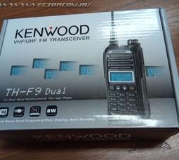 Портативная радиостанция Kenwood ТН-F9 DUAL 8 Вт 144/430МГц  - фото 1