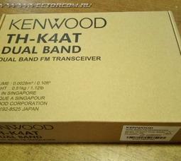 Портативная рация Kenwood TH-K4AT Dual Band - фото 4